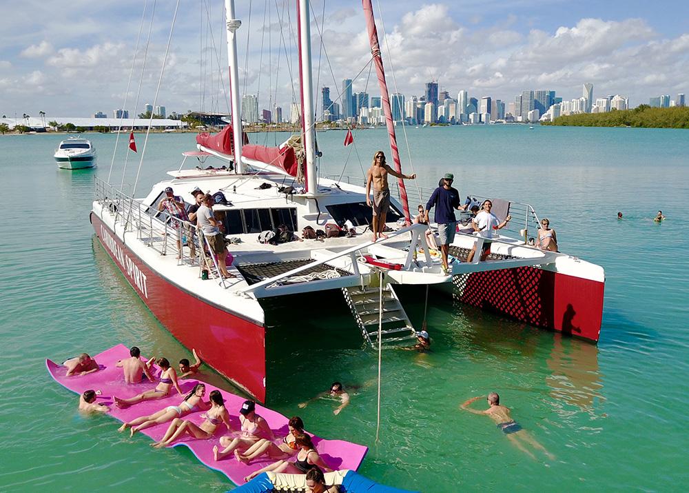Party Catamarans Miami Yacht Charters