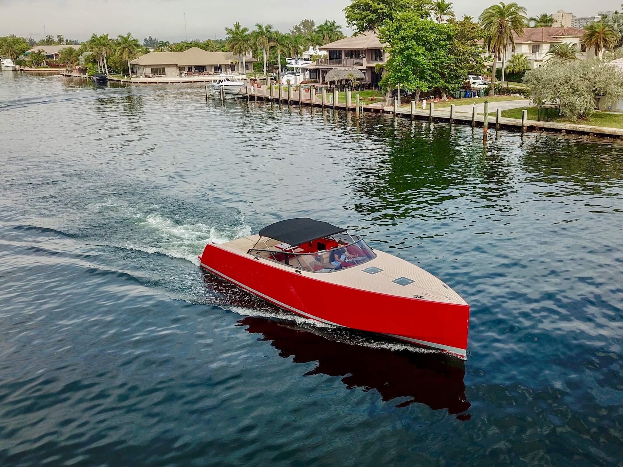 40′ Vandutch Red Sport Yacht