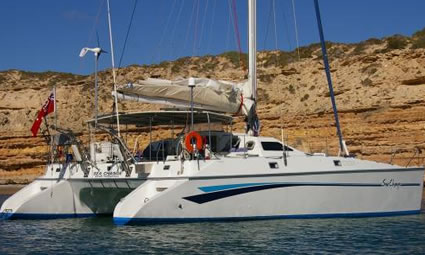 48ft Privilege Cruising Catamaran Sailing Yacht