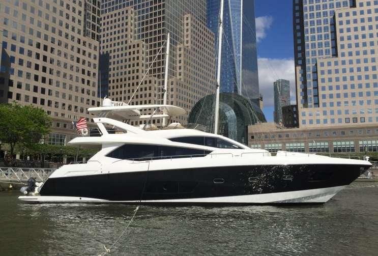 75′ Sunseeker Motor Yacht