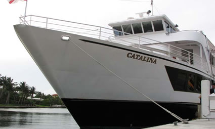 130ft Catalina Luxury Yacht