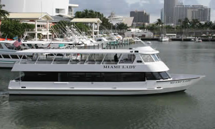 74ft Miami Lady Luxury Yacht