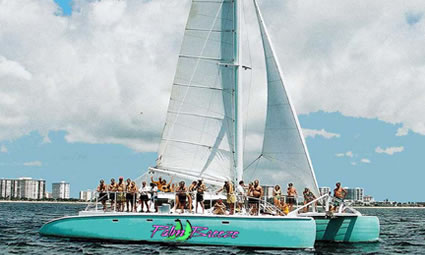 50ft Spirit of Fort Lauderdale Commercial Sailing Yacht Party Catamaran