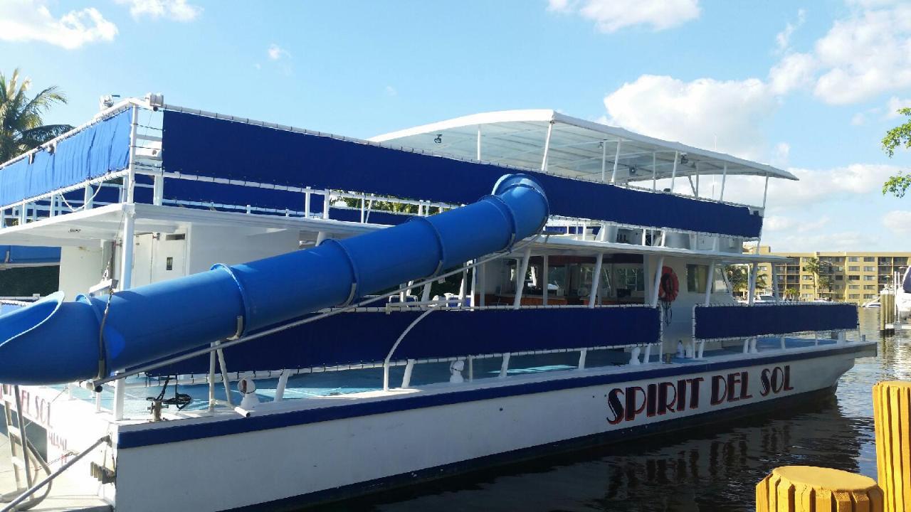 Del Sol Comercial Yacht Party Catamaran